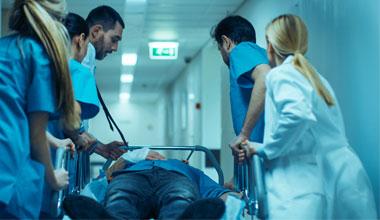 Hospitalisation d'urgence